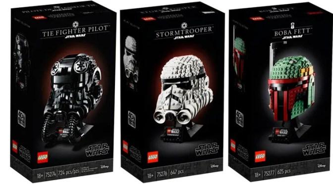Nueva línea de cascos LEGO Star Wars