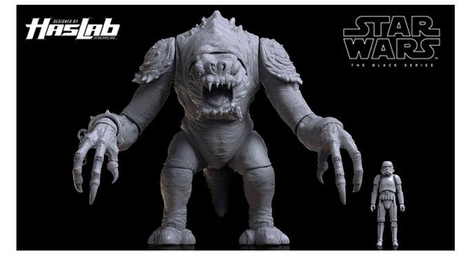 Hasbro presenta su proyecto Haslab Black Series Rancor
