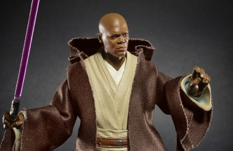"Star Wars The Black Series 6"" Mace Windu Figure"