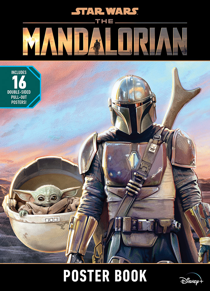 The Mandalorian poster book.