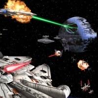 Attack on Death Star Wallpaper