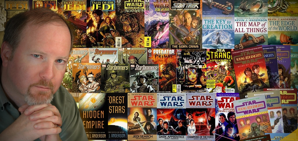 Kevin J Anderson Author Star Wars Interviews