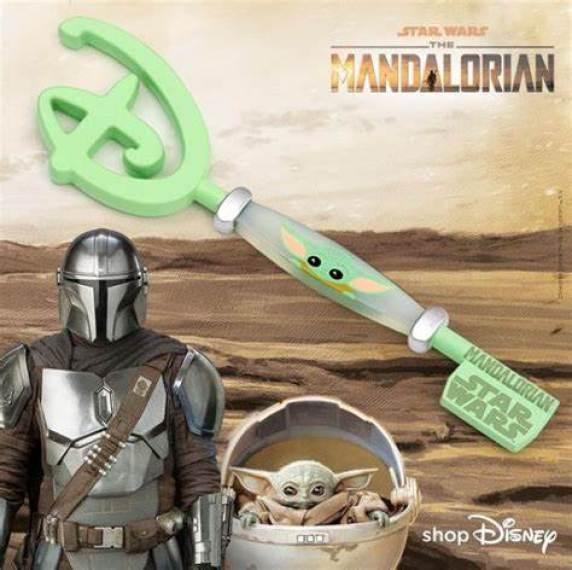 star wars italia the mandalorian disney key