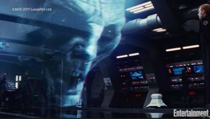 Supreme Leader Snoke Hologram (The Last Jedi) 1