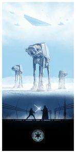 The Empire Strikes Back (El Imperio Contraataca) Battle of Hoth, Luke VS Vader.