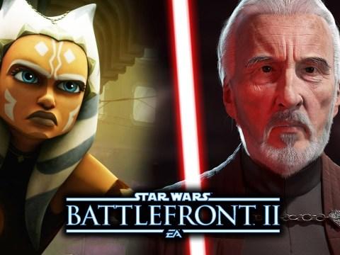 Ahsoka and Count Dooku in Star Wars Battlefront 2 (DLC)