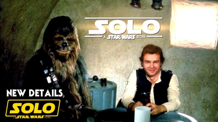 Han Solo Movie Trailer Coming Soon! (Solo A Star Wars Story)