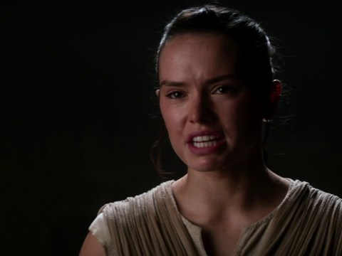 Star Wars The Force Awakens Rey's Vision