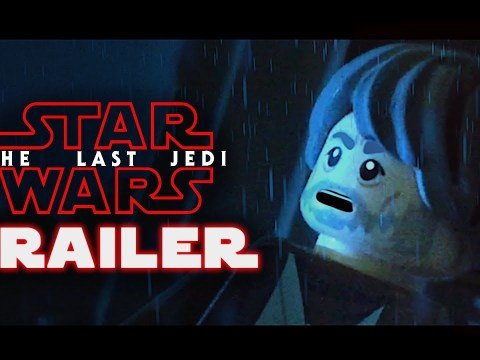 Star Wars: The Last Jedi Official Trailer in LEGO 2