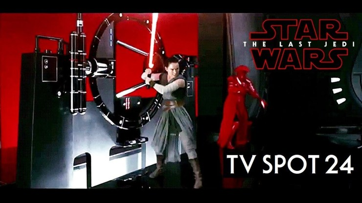Star Wars The Last Jedi TV Spot Trailer 24 HD 1