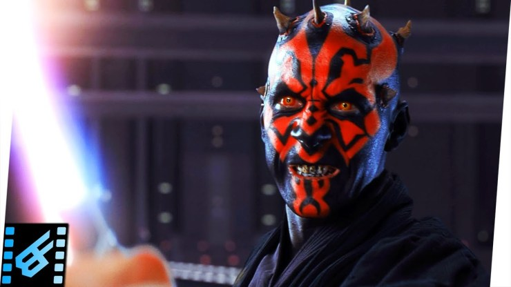 Star Wars The Phantom Menace - Qui-Gon & Obi-Wan vs Darth Maul