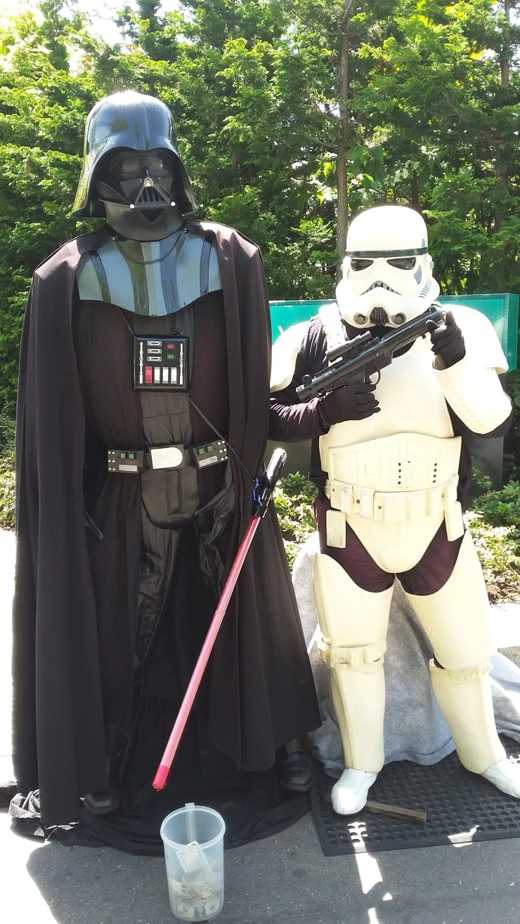 Darth Vader and StormTrooper in Seattle 2