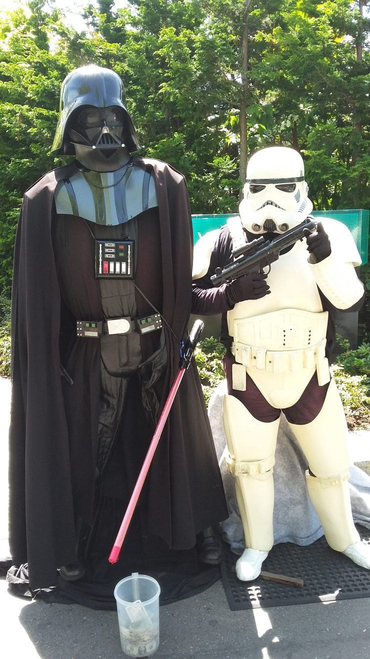 Darth Vader and StormTrooper in Seattle 1