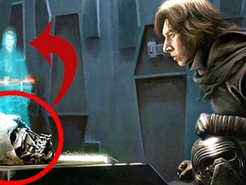 Cómo Kylo Ren Obtuvo la Máscara de Darth Vader - Star Wars Apolo1138 11