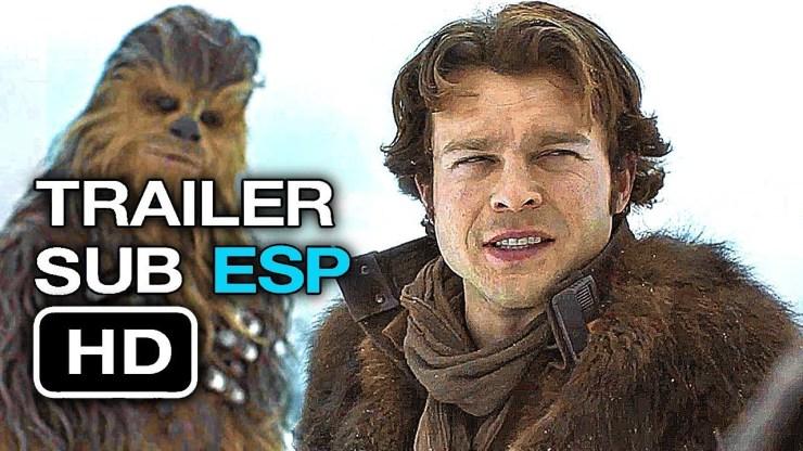 HAN SOLO | Trailer EXTENDIDO SUBTITULADO en Español (HD) Alden Ehrenreich