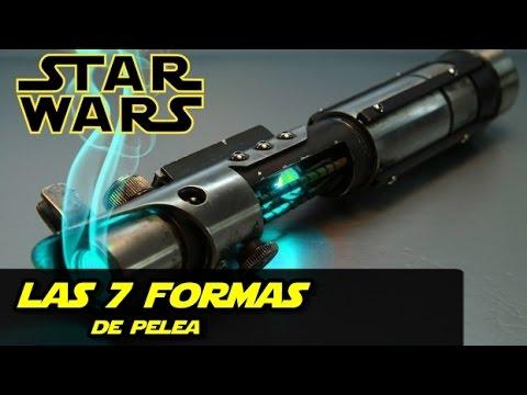 Star Wars Sable de Luz : Las 7 Formas (Informacion) 13