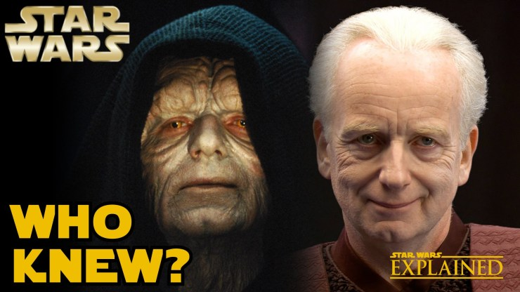 Who Knew Palpatine was Darth Sidious (Canon) - Star Wars Explained 1