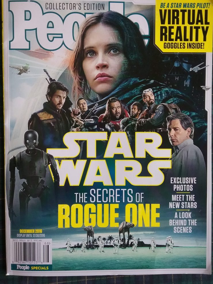 Rogue One People Specials Magazine article.