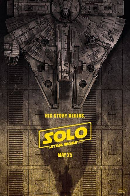 Solo: A Star Wars Story Poster (Millennium Falcon) 1