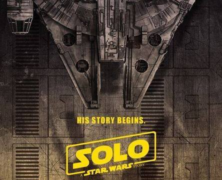 Solo: A Star Wars Story Poster (Millennium Falcon)