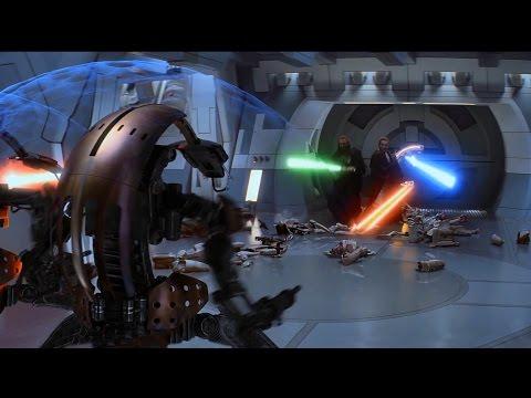 Jedi vs Trade Federation Droids - The Phantom Menace