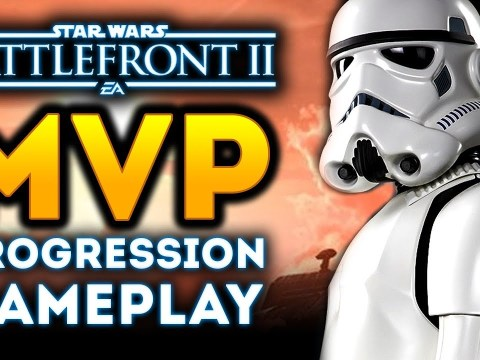 MVP Progression Gameplay! How Much XP Do You Gain? Rank Up on Bespin! - Star Wars Battlefront 2