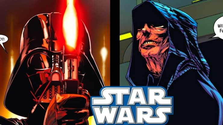 Sidious' THOUGHTS On Vader's NEW Lightsaber(CANON) - Star Wars Comics Explained 1