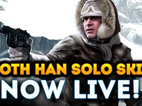 Star Wars Battlefront 2 - Hoth Han Solo Skin NOW LIVE! New Playtesting Spotted! 10