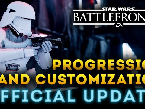 Star Wars Battlefront 2 - New Progression and Customization! OFFICIAL UPDATE! Every detail!