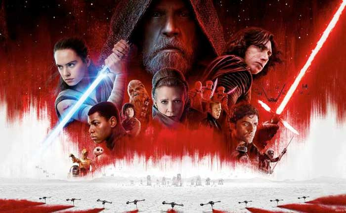 El Blu-Ray de 'Star Wars: Los Últimos Jedi' trae una versión sin diálogos, solo música 1