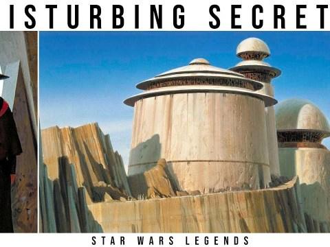 The Disturbing Secret of Jabba's Palace   Star Wars Legends Lore