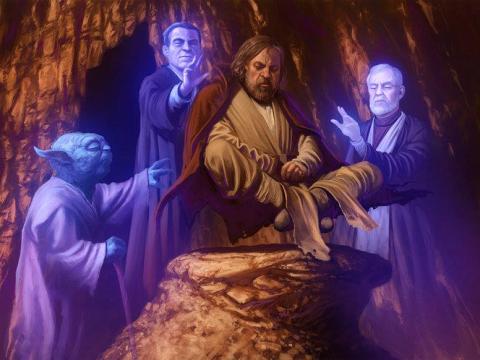 Luke's Grand Illusion by Jedi-art-trick:Jedi-Art-Trick