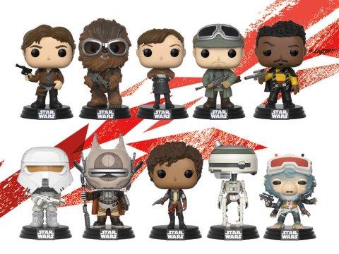 Los 13 nuevos Pop! que lanzará Funko para Solo: A Star Wars Story