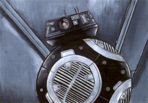 Star Wars The Last Jedi Characters Digital Art 4