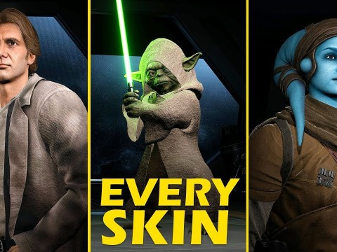 EVERY SKIN added in the Battlefront II April Patch | Cinematic Showcase