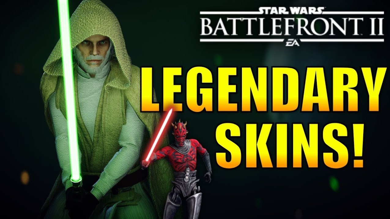 Legendary Hero Skins We Could Potentially See In Battlefront 2!