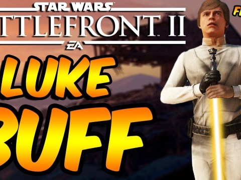 Star Wars Battlefront 2 - Luke Skywalker BUFF Confirmed!