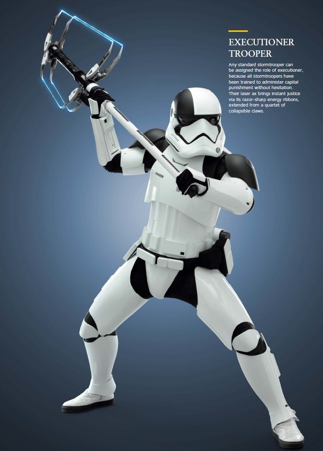 STORMTROOPERS SOLDIERS OF THE FIRST ORDER 1