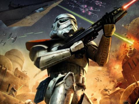 Download Star Wars Battlefront - Elite Squadron (PSP Portable)