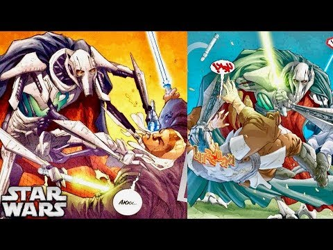 How Grievous Became a Devastating Lightsaber Duelist