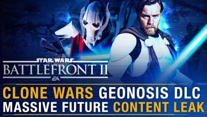 NEW CLONE WARS DLC LEAK! Geonosis, Skins (Star Wars Battlefront 2)