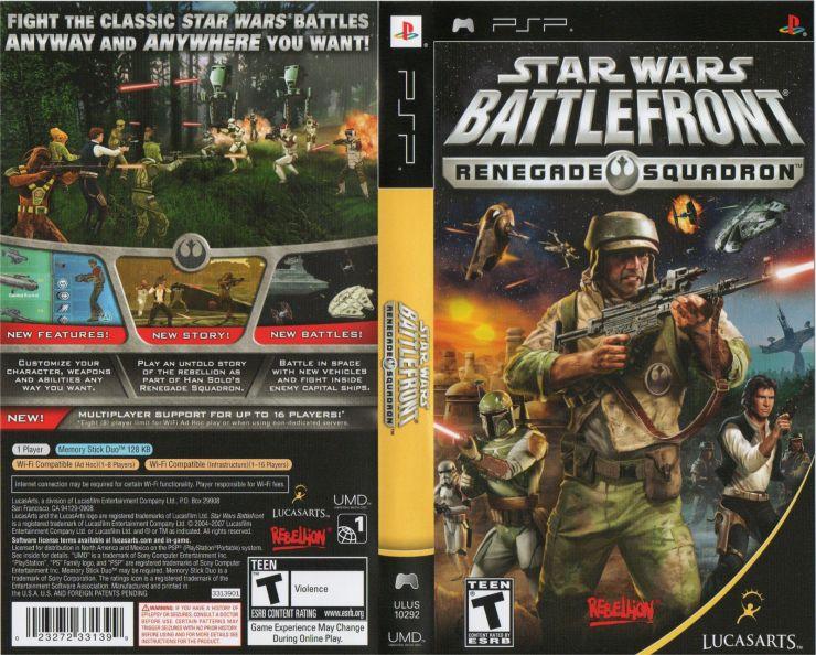 Download Star Wars Battlefront Renegade Squadron (PSP Portable)