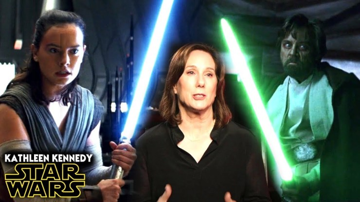 Star Wars Disney Not Happy With Kathleen Kennedy!