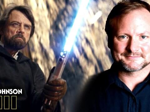Star Wars! Rian Johnson's Secret Of Luke's Force Projection! 2
