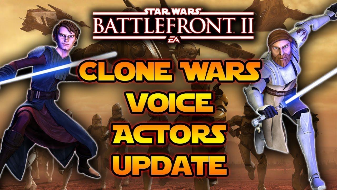 Star Wars Battlefront 2 Anakin Skywalker & Obi Wan Voice ...