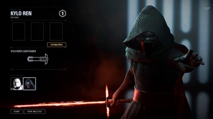 Star Wars Battlefront II Kylo Ren VS Resistance Troopers Gameplay. 1