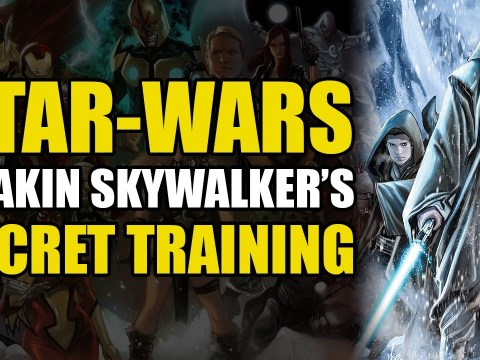 Anakin Skywalker's Secret Training (Star Wars: Obi Wan & Anakin Vol 1)