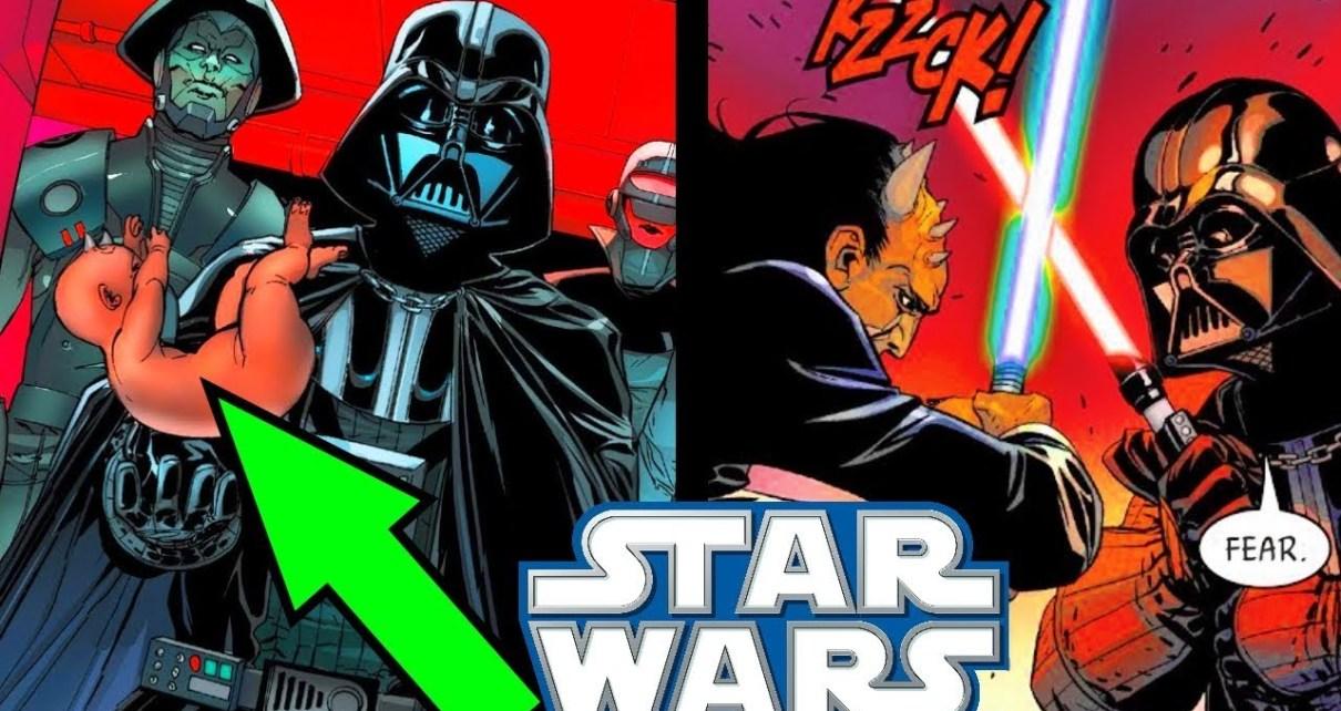 DARTH VADER HITS NEW LOW!! (Kidnapping Babies) - Star Wars ...