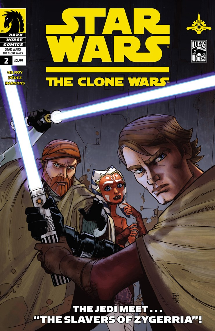 Star Wars - The Clone Wars 02 (of 12) (2008) 1