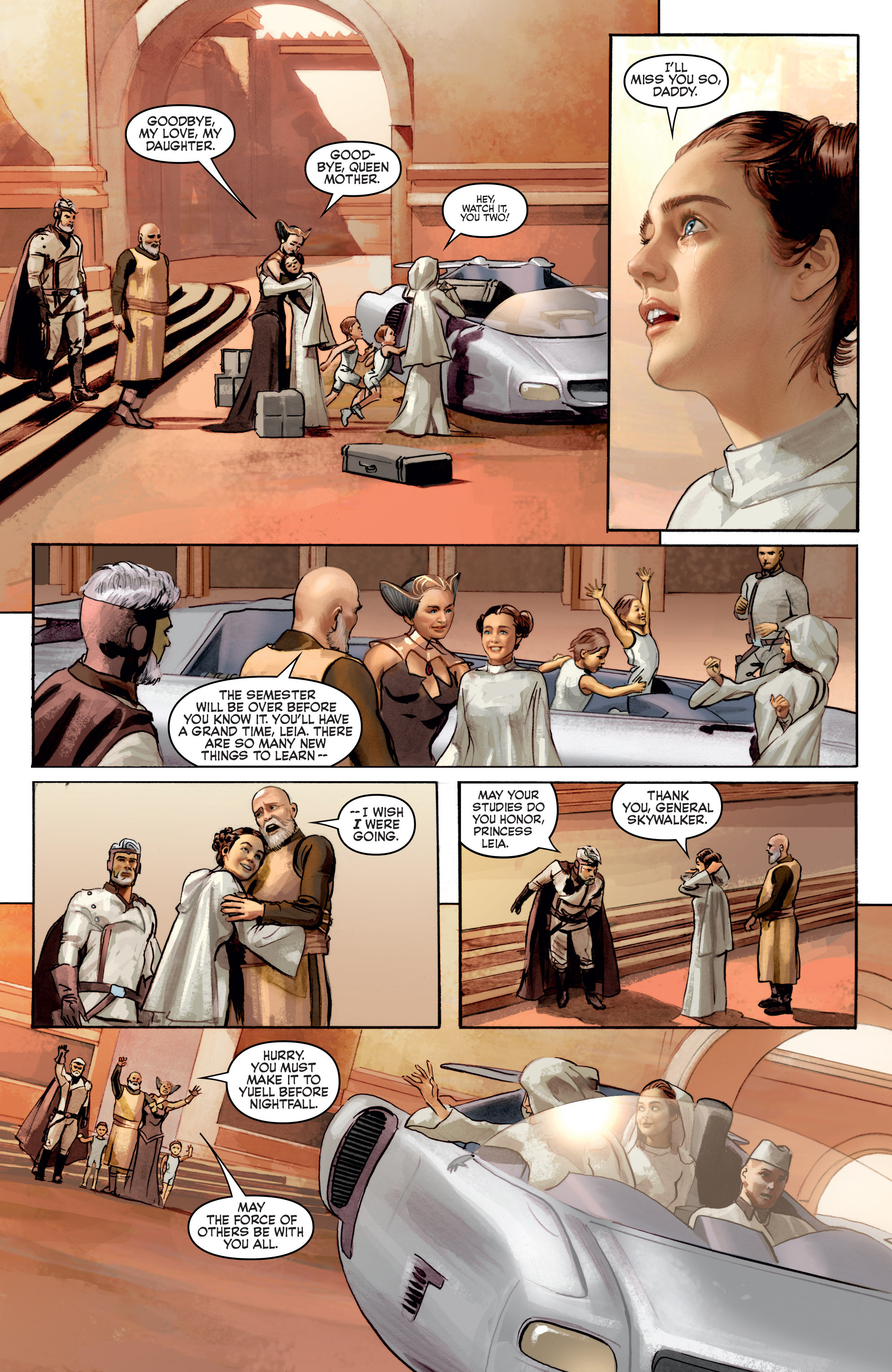 THE STAR WARS comic (2015, Marvel edition) Vol.2